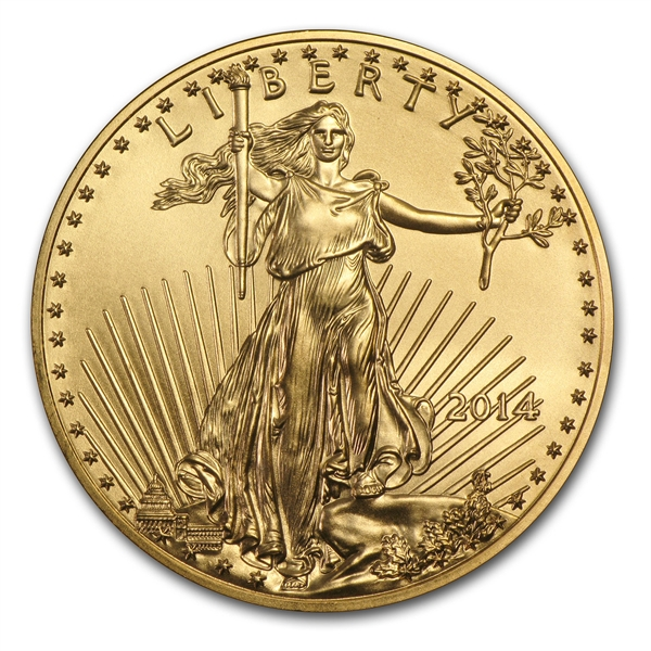 American Gold Eagle Coin 2014