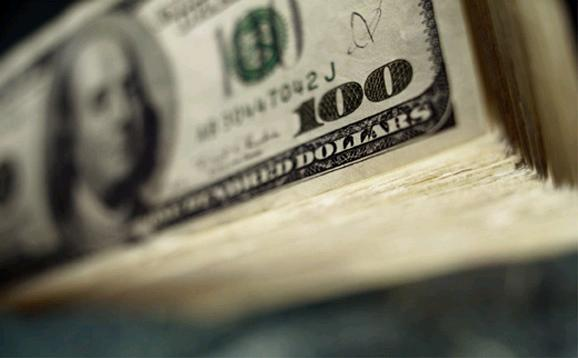 Gold Investing Precious Metals IRA Closeup 100 Dollar Bills
