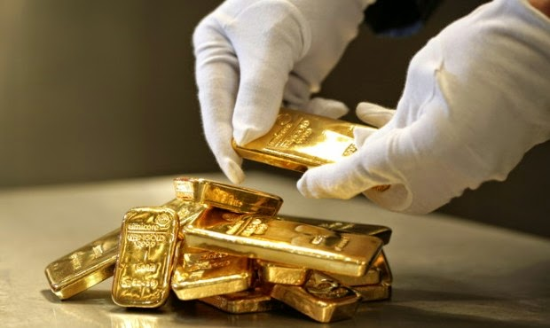 Gold IRA Custodian Gold Bars Bullion Hands White Gloves