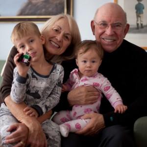 Grandparents Grandchildren Couch