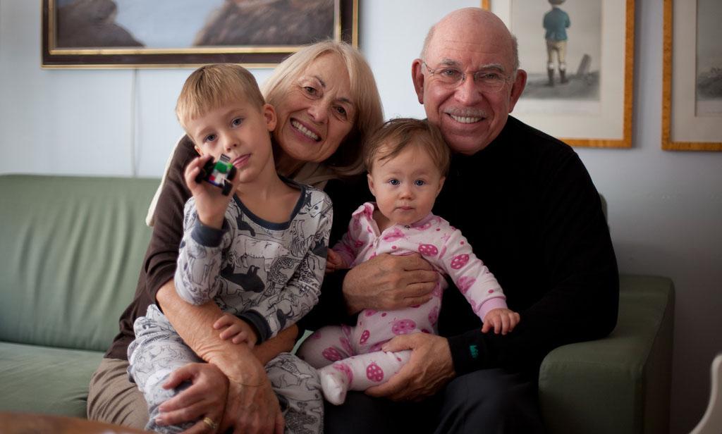Best Gold IRA Grandparents Grandchildren Couch