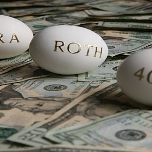 IRA Roth 401k Nest Eggs over Money