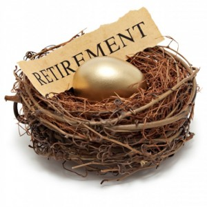 Retirement Gold Nest Egg