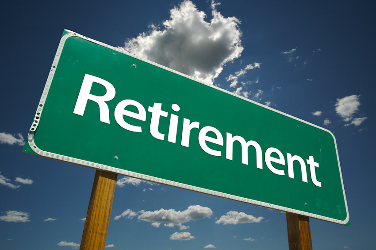 Retirement Plan Highway Sign