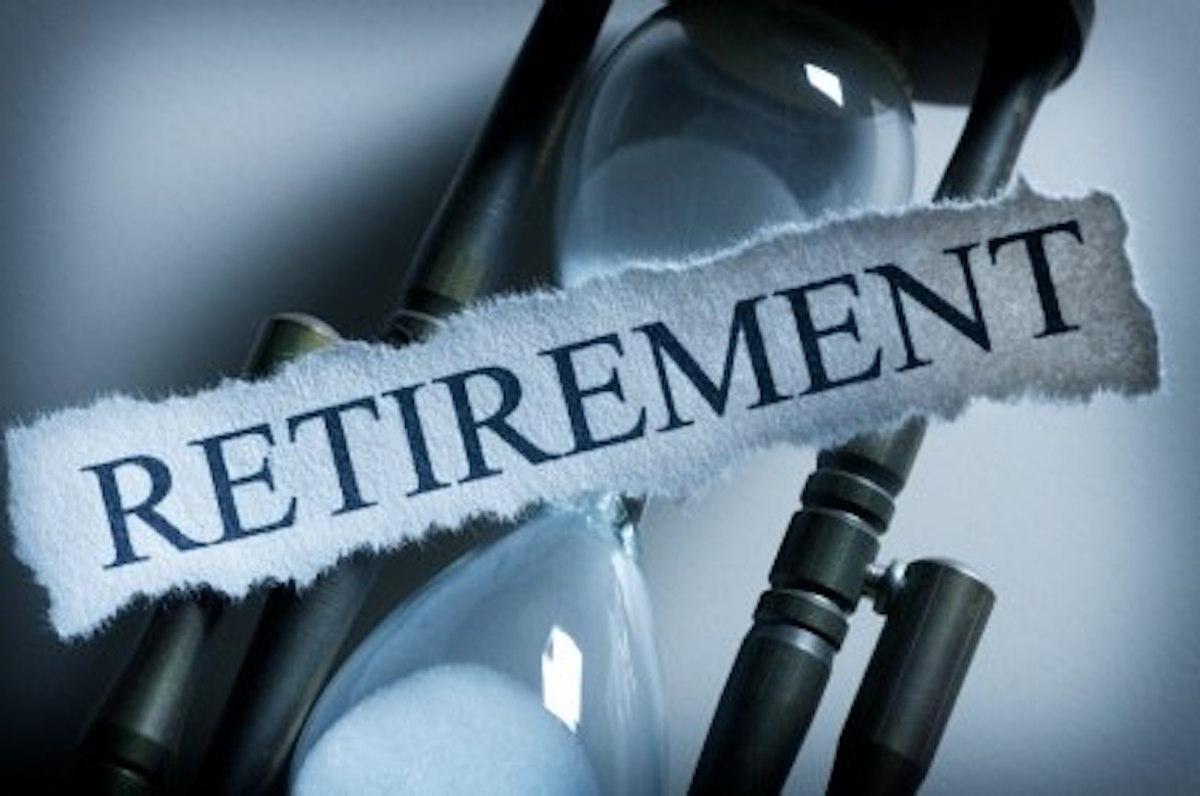 Retirement Plan Hourglass