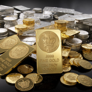 Silver Gold Bullion Bars