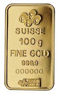 Swiss PAMP Gold Bar