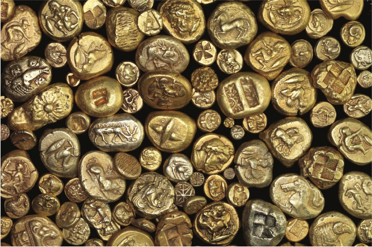 Gold Investing Ancient Money Coins