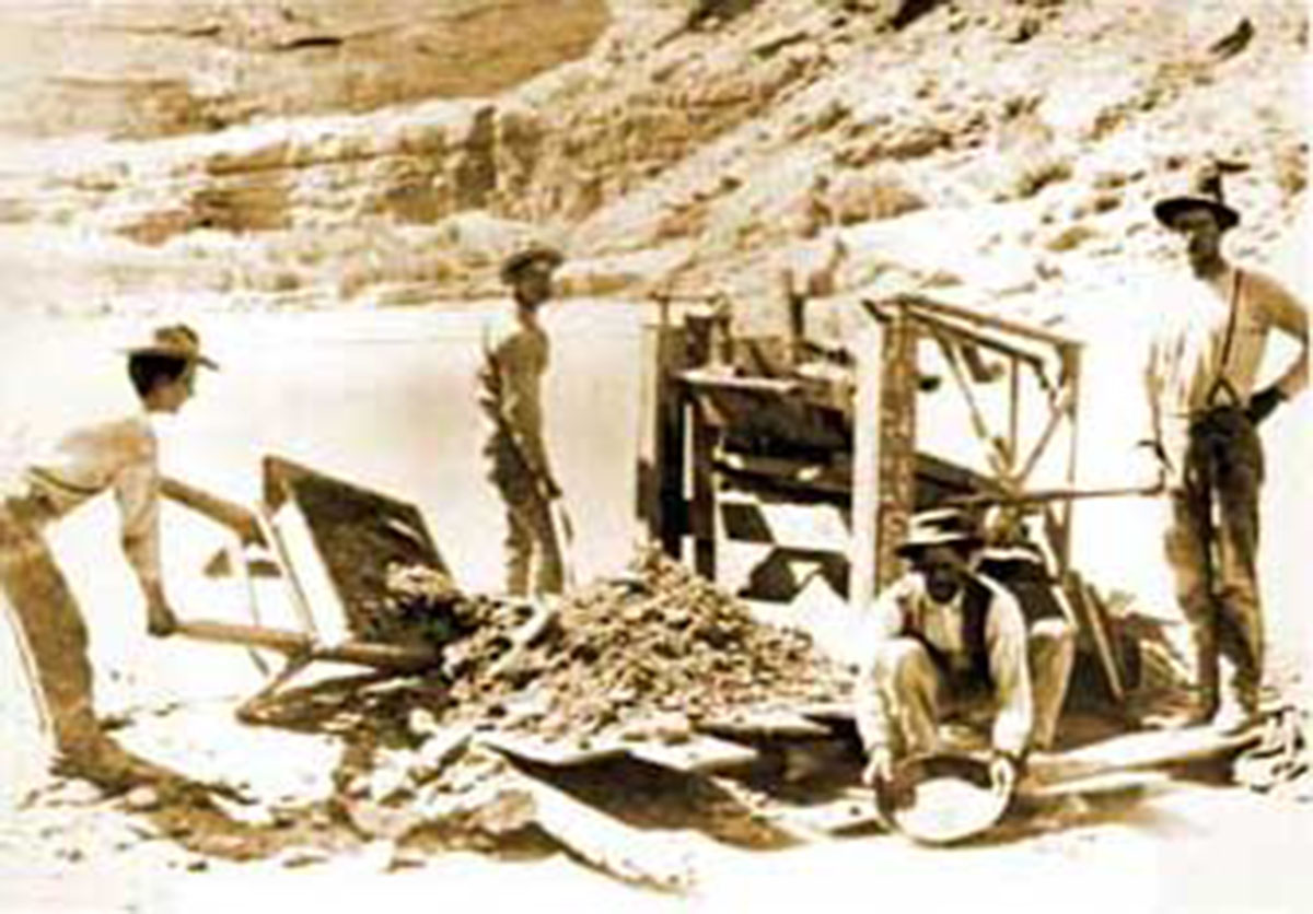 Gold Investing Vintage Miners Mining